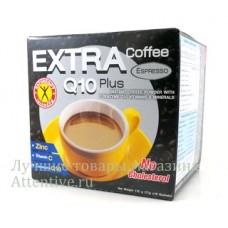 Кофе для похудения эспрессо «Extra Coffee Q10 Plus», 10 саше