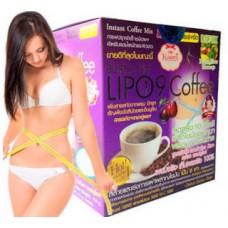 Для похудения LIPO 9 кофе, 10 саше, Lipo9 Coffee.