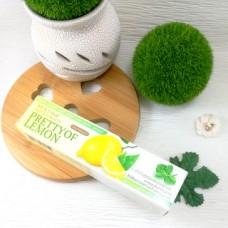 Отбеливающая зубная паста с лимоном NATURAL BEAUTY PRETTY of lemon  Mistine, 50 гр.