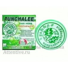 Тайская зубная паста, на травах  Punchalee, 25 гр.
