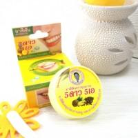 Тайская круглая зубная паста ананас, 5Stars,  25 гр.